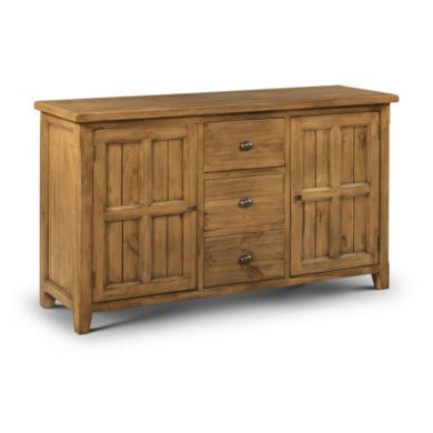 Julian bowen mayflower large sideboard in pine furniture123 for May company furniture