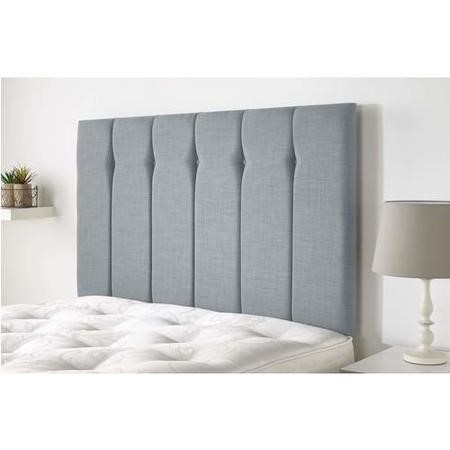 Amble headboard in Northern Weave fabric - Sky - King 5ft