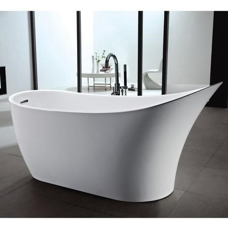Darcy Modern Freestanding Slipper Bath - 1680 x 730 x 800mm