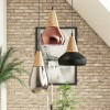 Cluster Pendant Light in Copper Black & Nickel- Hyde