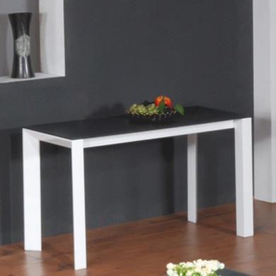 Wilkinson Furniture Mobo Grey Console Table with Glass Top