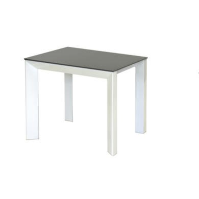 Wilkinson Furniture Mobo Grey Lamp Table with Glass Top