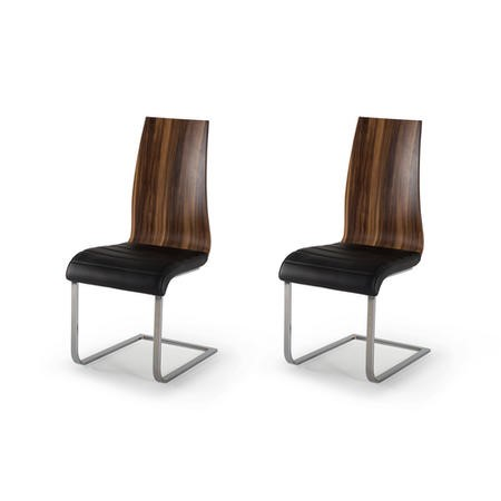 Wilkinson Furniture Pair Of Messina Dining Chairs In