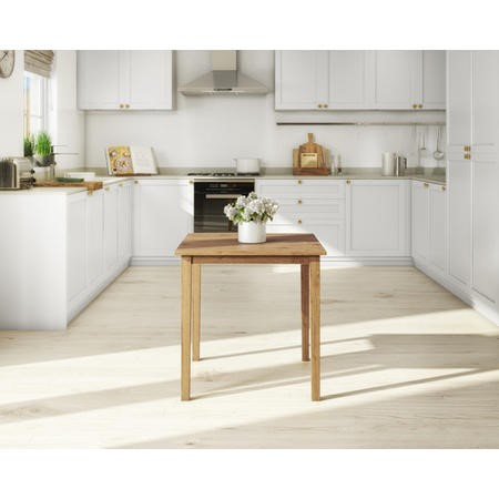 Excellent New Haven Small Square Dining Table In Oak Seats 4 Gmtry Best Dining Table And Chair Ideas Images Gmtryco