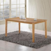 GRADE A2 - New Haven Large Dining Table in Light Oak