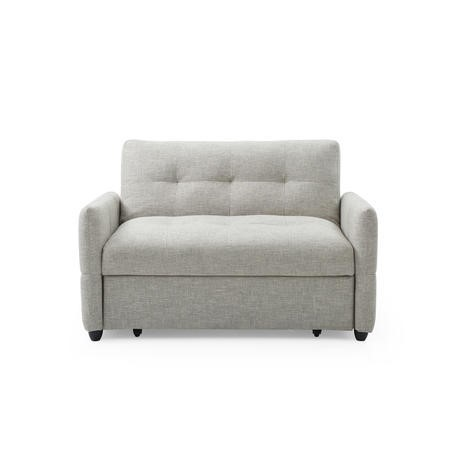 Nova Neutral Fabric 2 Seater Sleeper Sofa Bed