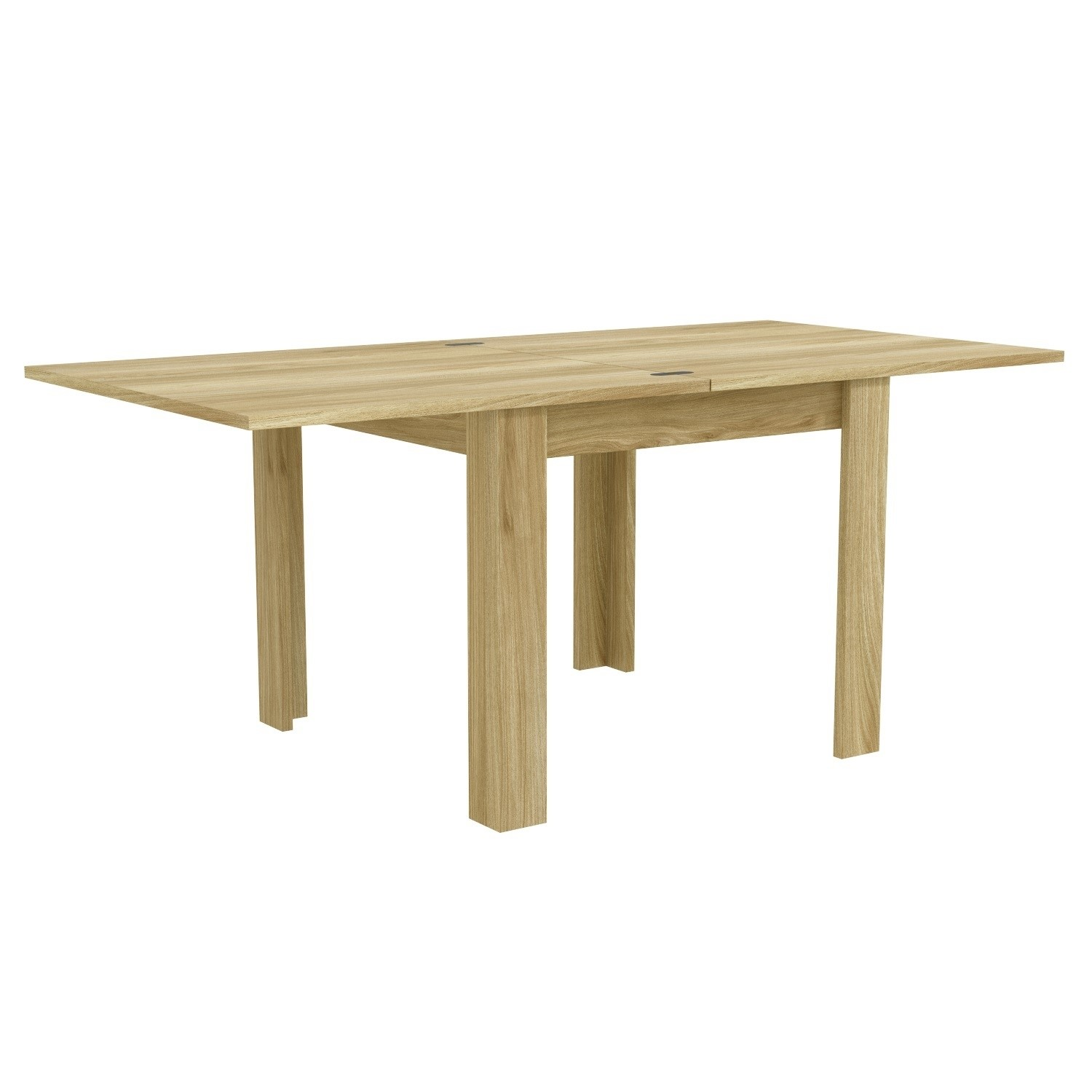 Picture of: New Town Flip Top Oak 4 Seater Dining Table Home Kitchen Dining Room Furniture