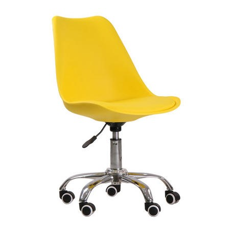LPD Orsen Swivel Office Chair in Yellow