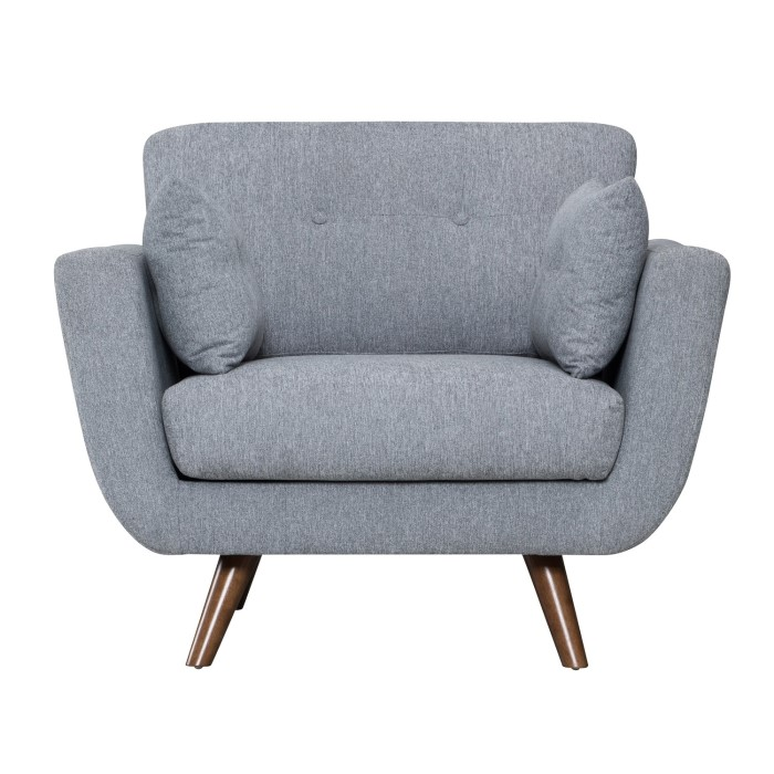 Oslo Armchair in Grey | Furniture123