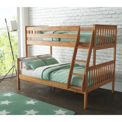 Oxford Triple Bunk Bed In Pine Small Double Furniture123