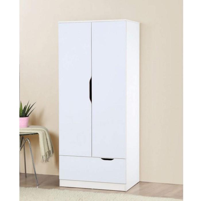 Birlea furniture paddington 2 door 1 drawer wardrobe in for Furniture 123 wardrobes