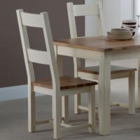 World Furniture Pair of Panama Dining Chairs