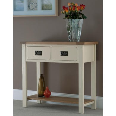 World Furniture Panama 2 Drawer Console Table
