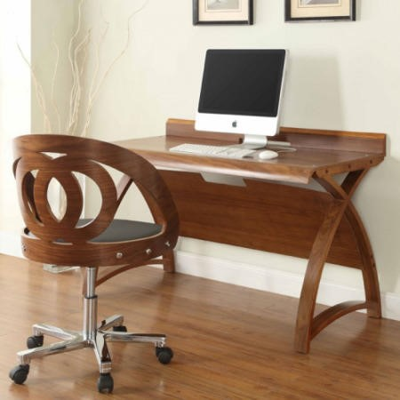 Jual Furnishings Walnut 1300 Office Table