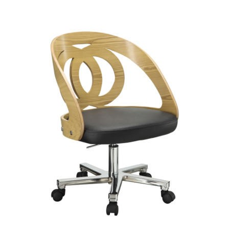 Jual Furnishings Curved Oak Office Chair