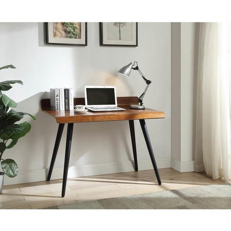 Vienna Office Desk Retro Walnut - Jual Furnishings