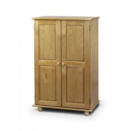 Julian bowen pickwick short wardrobe furniture123 for Furniture 123
