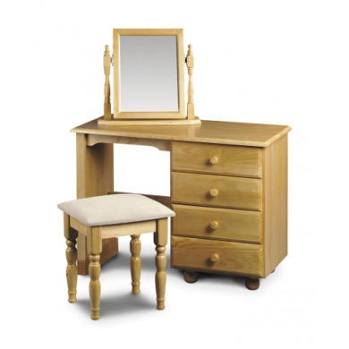 Julian Bowen Pickwick Single Pedestal Dressing Table