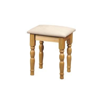 Julian Bowen Pickwick dressing Table Stool In Pine