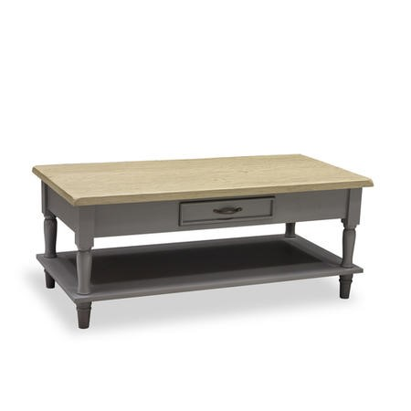 Chloe Coffee Table 2 Drawer With Shelf Furniture123