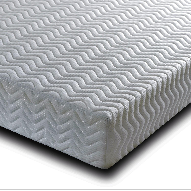 Pure memory foam single mattress - 3ft