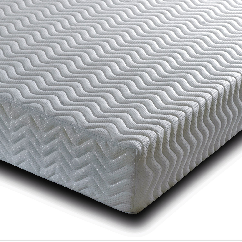 Pure memory foam king size mattress - 5ft
