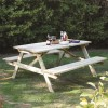 4 Seater Picnic Bench - Rowlinson