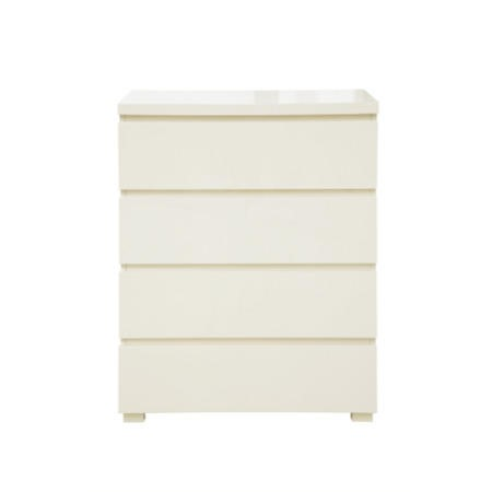 LPD Limited Puro 4 Drawer Chest in Cream