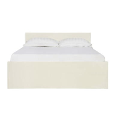 lpd limited puro kingsize bed in cream furniture123. Black Bedroom Furniture Sets. Home Design Ideas