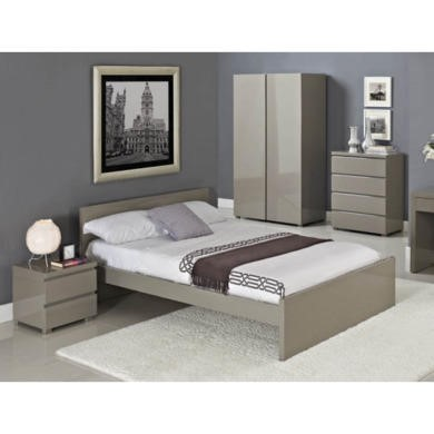 lpd limited puro double bed furniture123. Black Bedroom Furniture Sets. Home Design Ideas