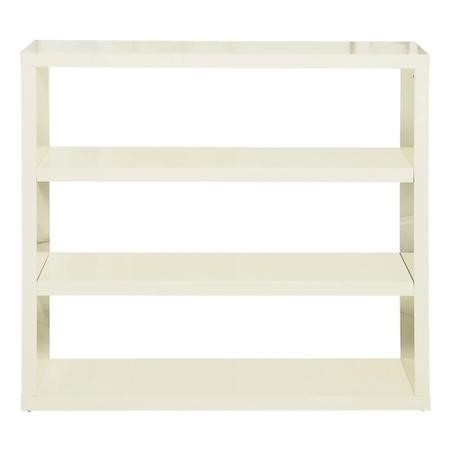 LPD Limited Puro Bookcase in Cream