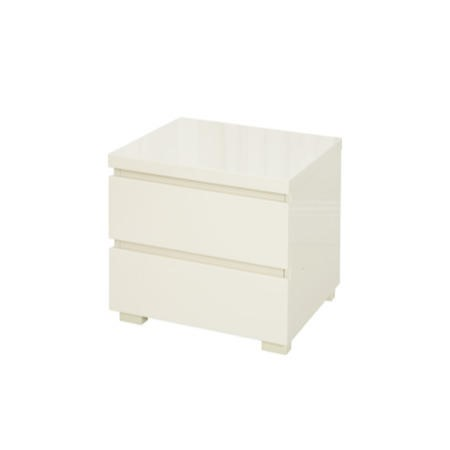 Lpd puro high gloss bedside table in cream furniture123 lpd puro high gloss bedside table in cream watchthetrailerfo
