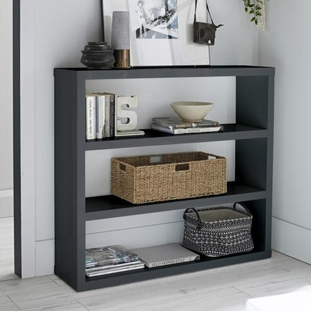 LPD Puro Bookcase in Charcoal
