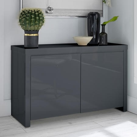 LPD Puro Sideboard in Charcoal