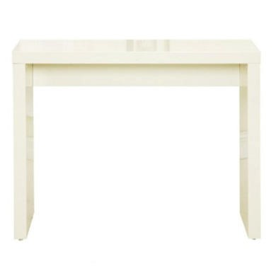 LPD Puro Console Table in Cream High Gloss