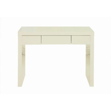 LPD Puro High Gloss Dressing Table in Cream