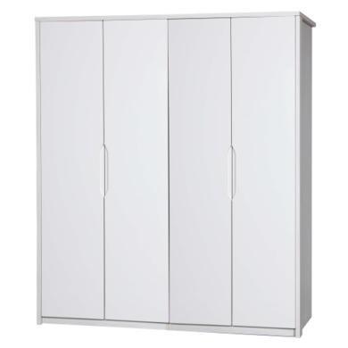 One Call Furniture Avola Premium Plus 4 Door Wardrobe in