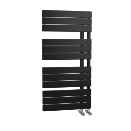 Anthracite Vertical Bathroom Towel Rail Radiator - 1080 x 550mm