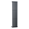 Vertical Anthracite Tall Radiator - 1800 x 399mm