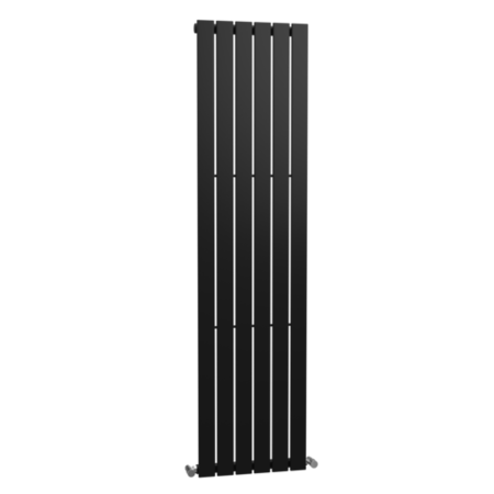 Anthracite Vertical Flat Panel Designer Modern Radiator - 1800 x 450mm - 3254 BTU's