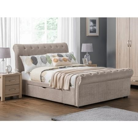 Julian Bowen Double Ravello 2 Drawer Storage Bed
