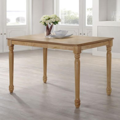 Rhode Island Rectangular Dining Table in Natural