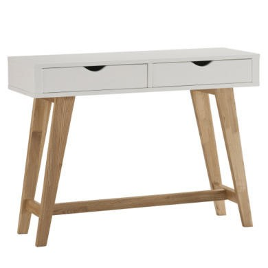 World Furniture Rimini White Console Table