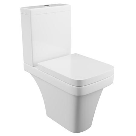 Davana Close Coupled Toilet with Seat