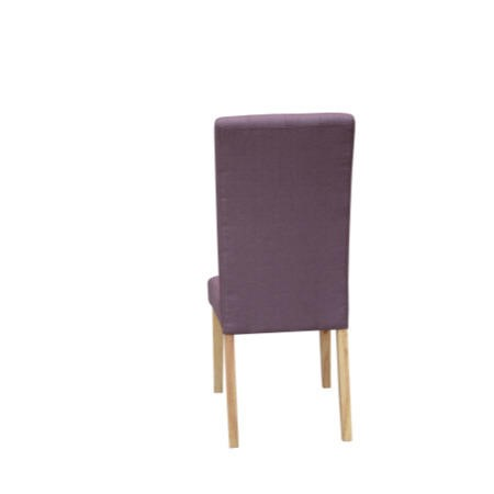 LPD Pair of D Roma Plum Dining Chairs