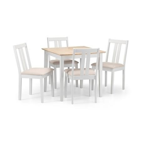 Julian Bowen Rufford Two Tone Extending Dining Set