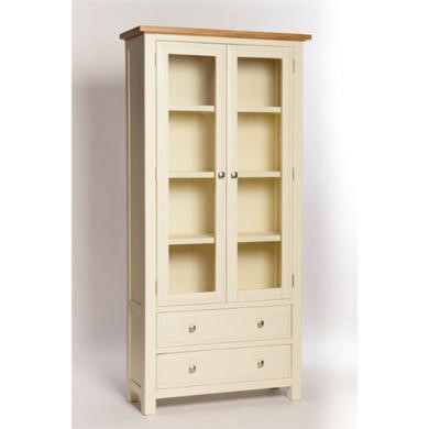 Furniture Link Rutland Display Cabinet in Pine