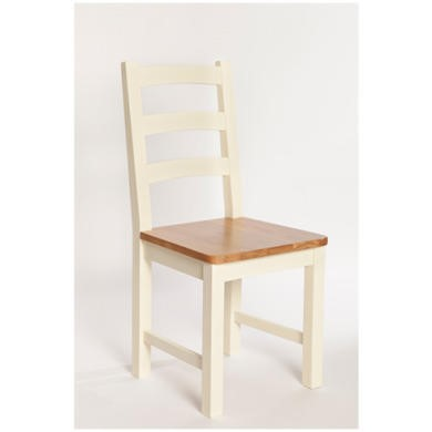 Furniture Link Rutland Pair of Dining Chairs in Pine