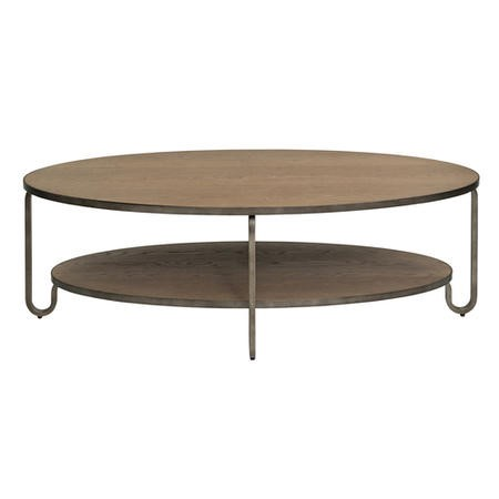 Willis and Gambier Revival Camden Solid Oak Oval Coffee Table