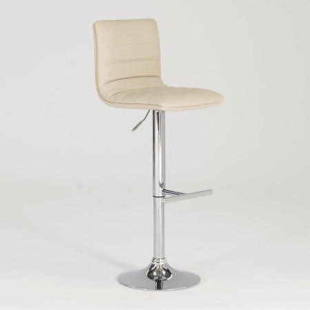 Vida Living Pair of Retro Cream Barstools